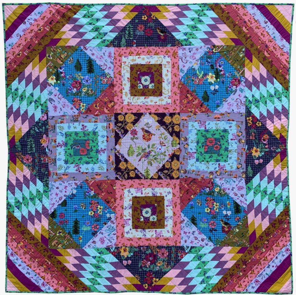 Conservatory: Souvenir Quilt Pattern PDF