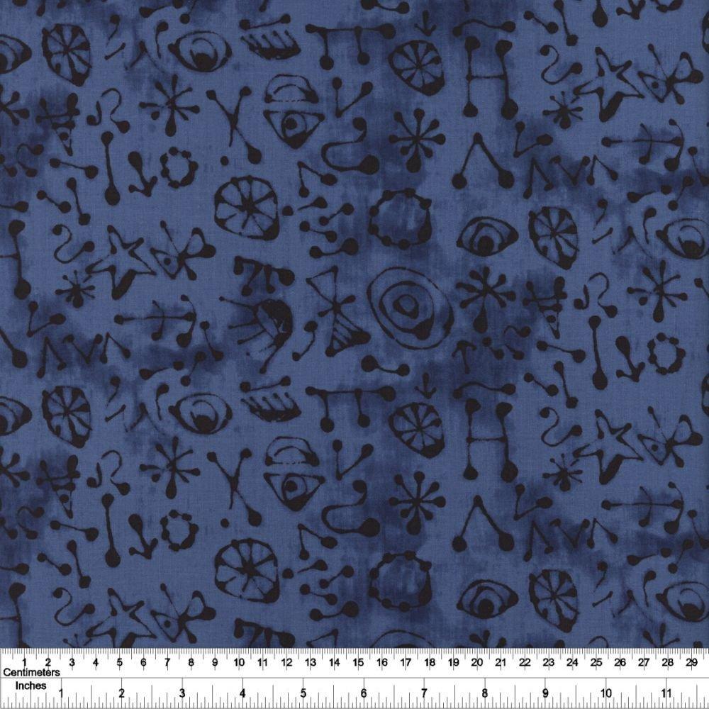 The Blue One - Miro Glyphs - San Juan Blue