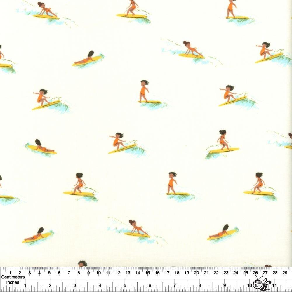 Malibu - Tiny Surfers - Cream