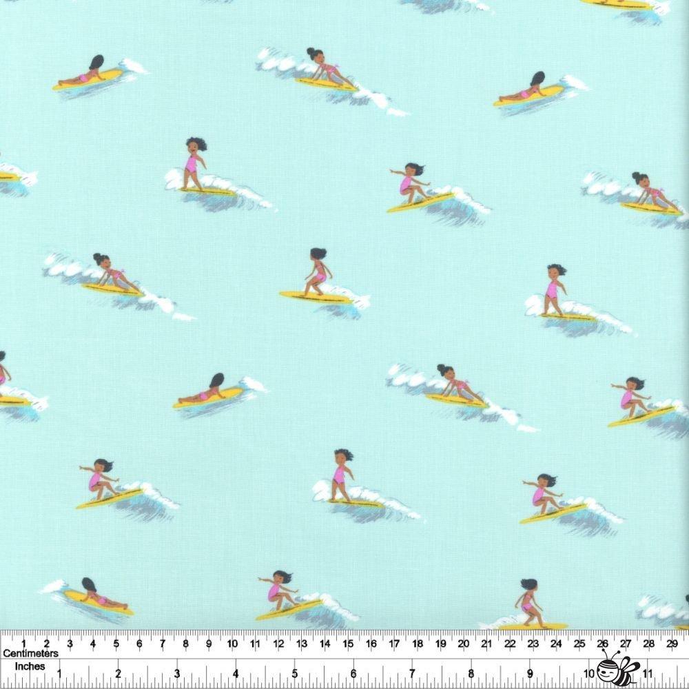 Malibu - Tiny Surfers - Sea Foam