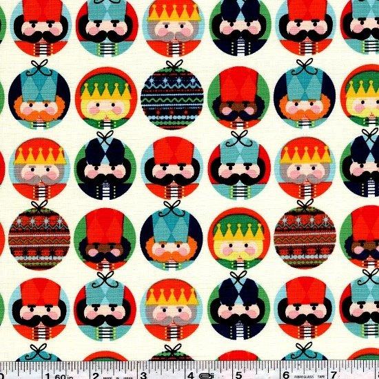 Nutcracker Christmas - Nutcracker Dots - Cream