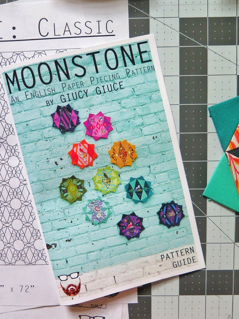 Moonstone Quilt Kit - Pattern Paper & Acrylic Templates