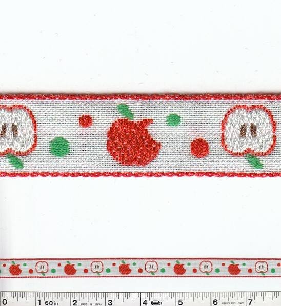 Apple Trim - Red