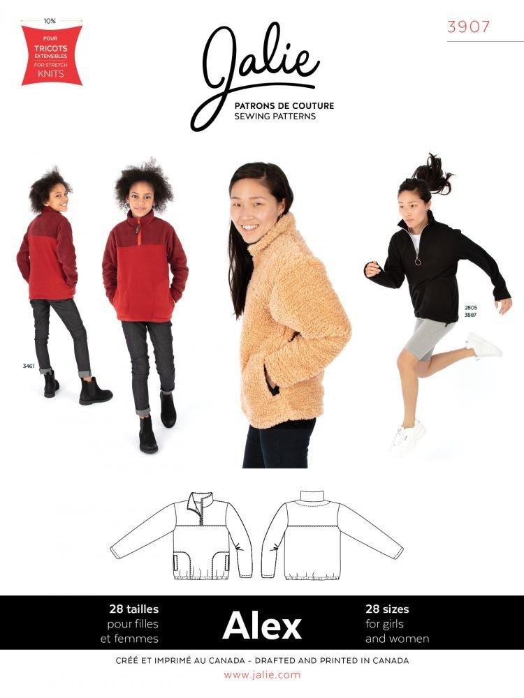 Jalie - Alex Half-Zip Pullover