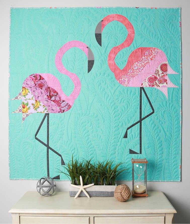 Sew Kind of Wonderful - Mod Flamingos