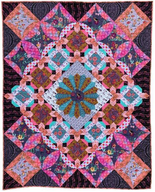 Conservatory: Portraits Quilt Pattern PDF