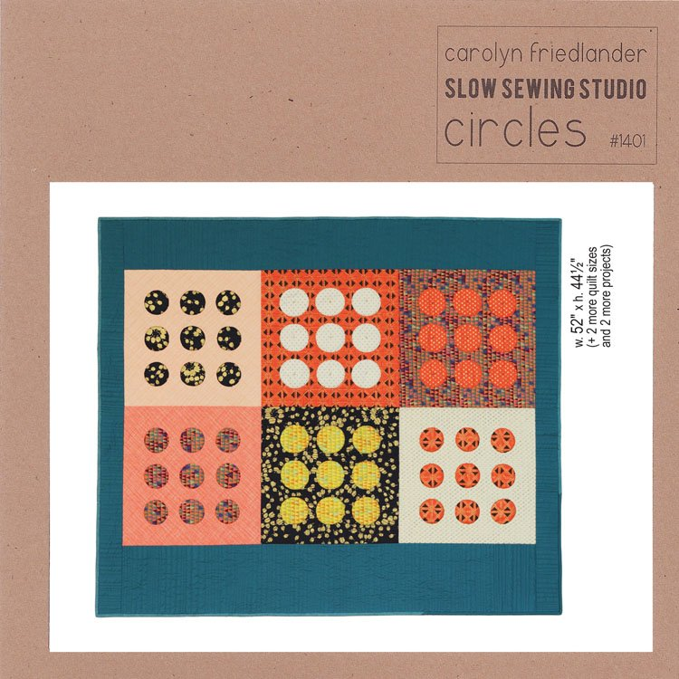 Slow Sewing Studio - Circles