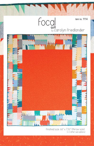Carolyn Friedlander - Focal Quilt