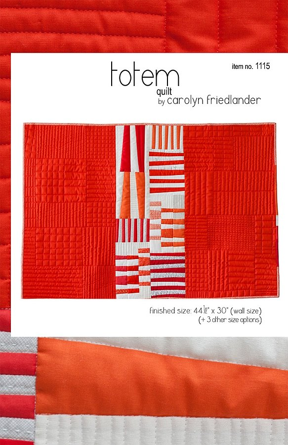 Carolyn Friedlander - Totem Quilt