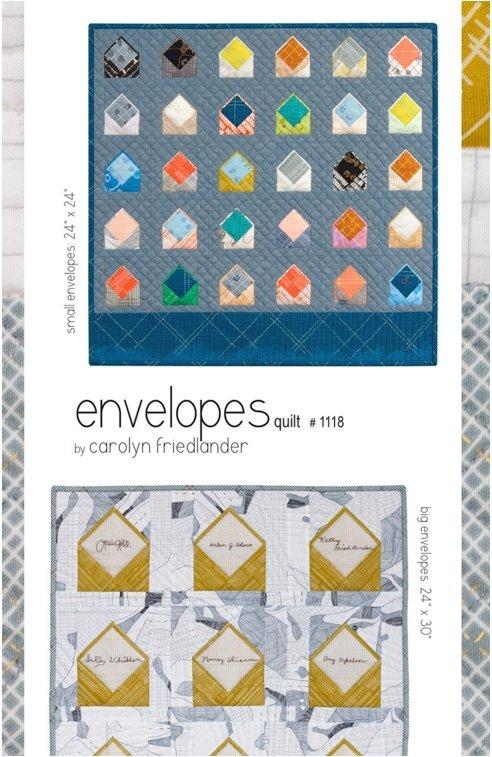 Carolyn Friedlander - Envelopes Quilt