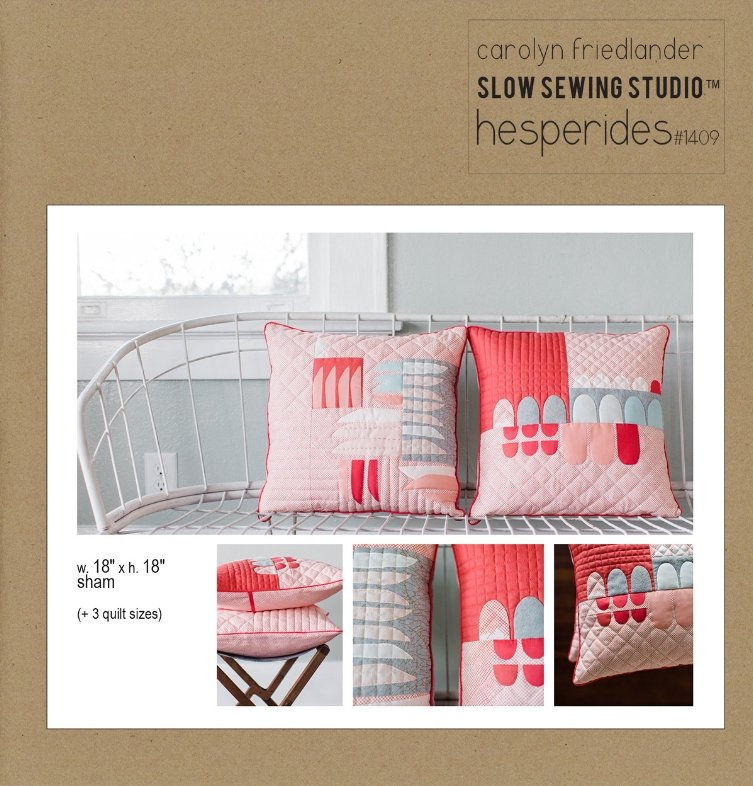 Slow Sewing Studio - Hesperides Quilt & Sham