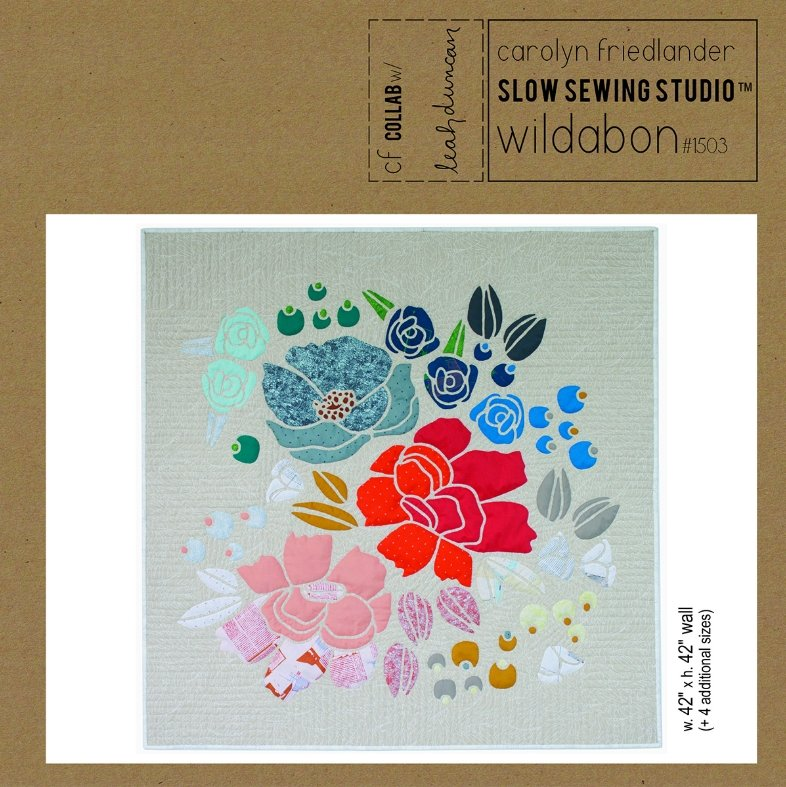 Slow Sewing Studio - Wildabon Quilt