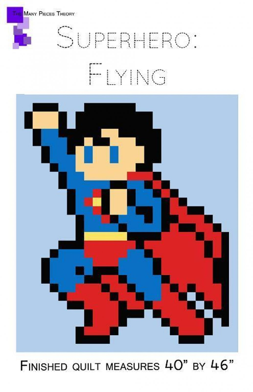 Quiltoni - Superhero: Flying