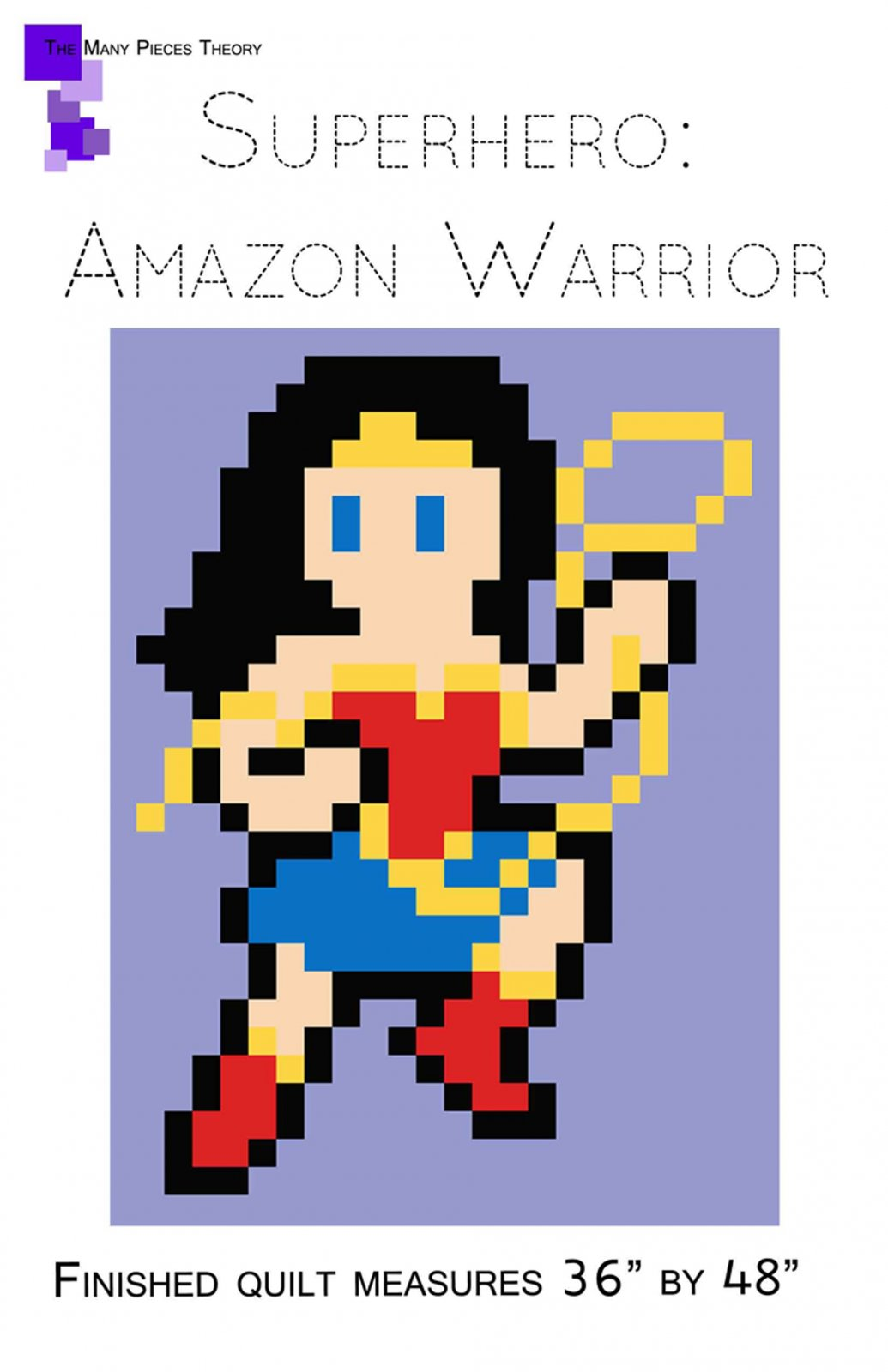 Quiltoni - Superhero: Amazon Warrior