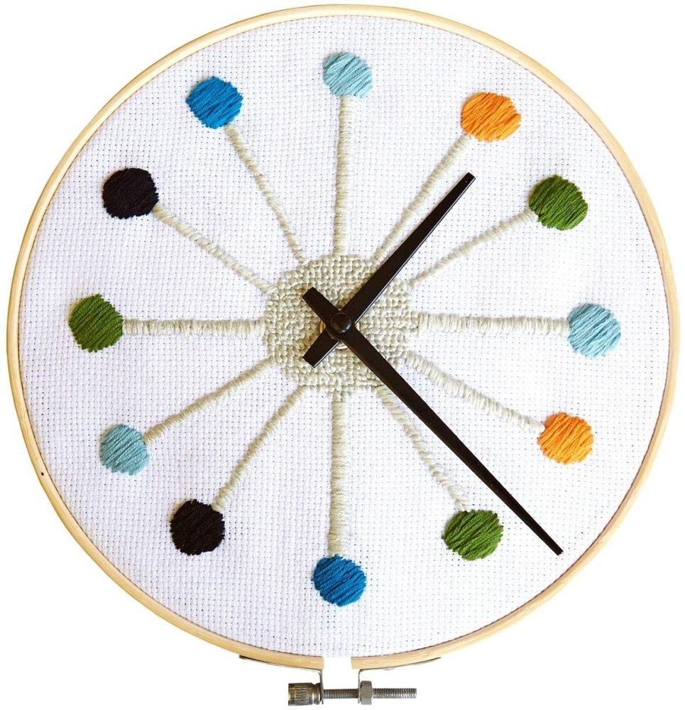 Cross Stitch Clock Kit