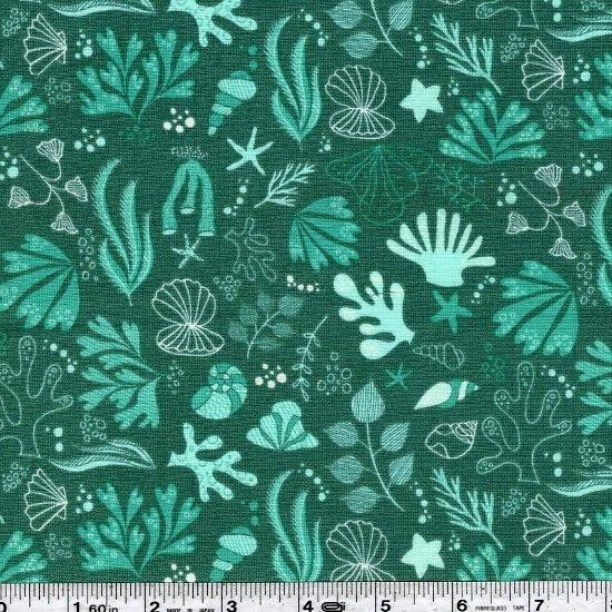 Under the Sea - Sea Creatures - Teal