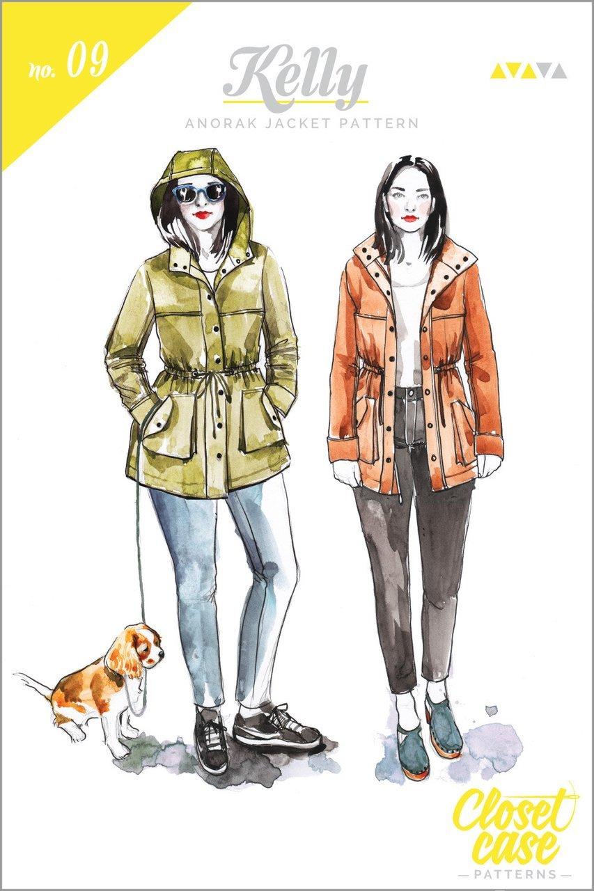 Closet Case Patterns - Kelly Anorak Jacket