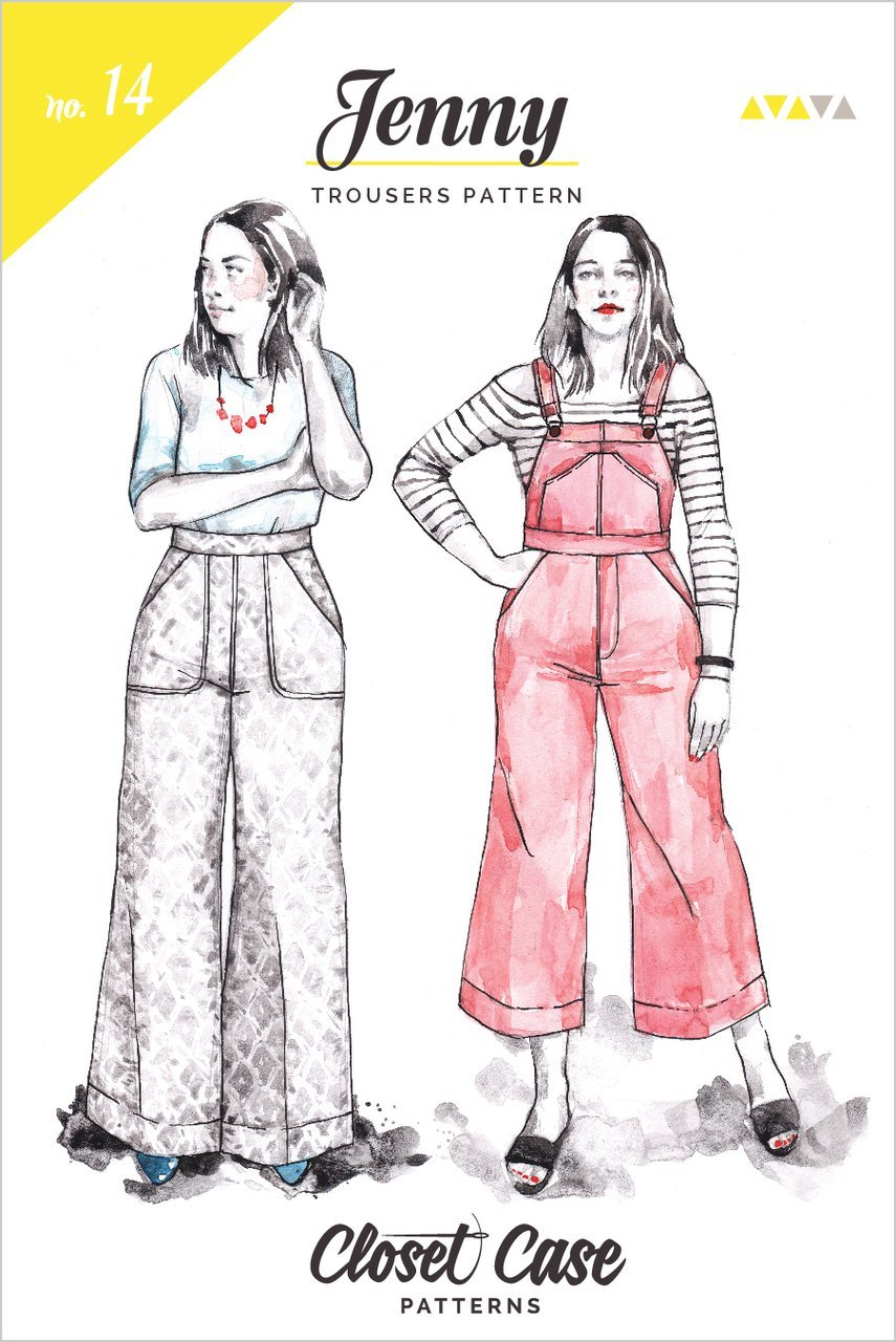 Closet Case Patterns - Jenny Overalls & Trousers