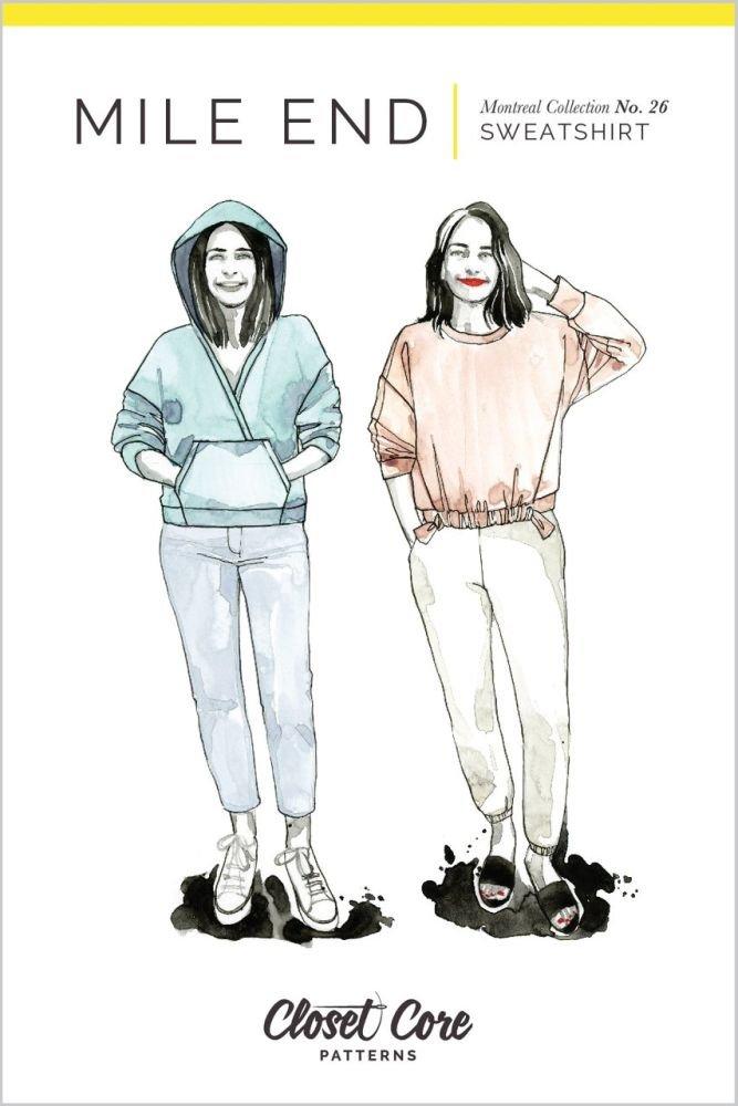Closet Core Patterns - Mile End Sweatshirt