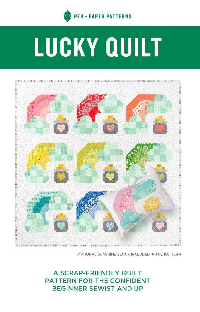 Pen + Paper Patterns - Lucky Quilt