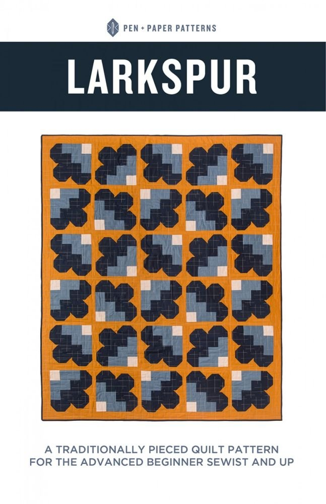 Pen + Paper Patterns - Larkspur