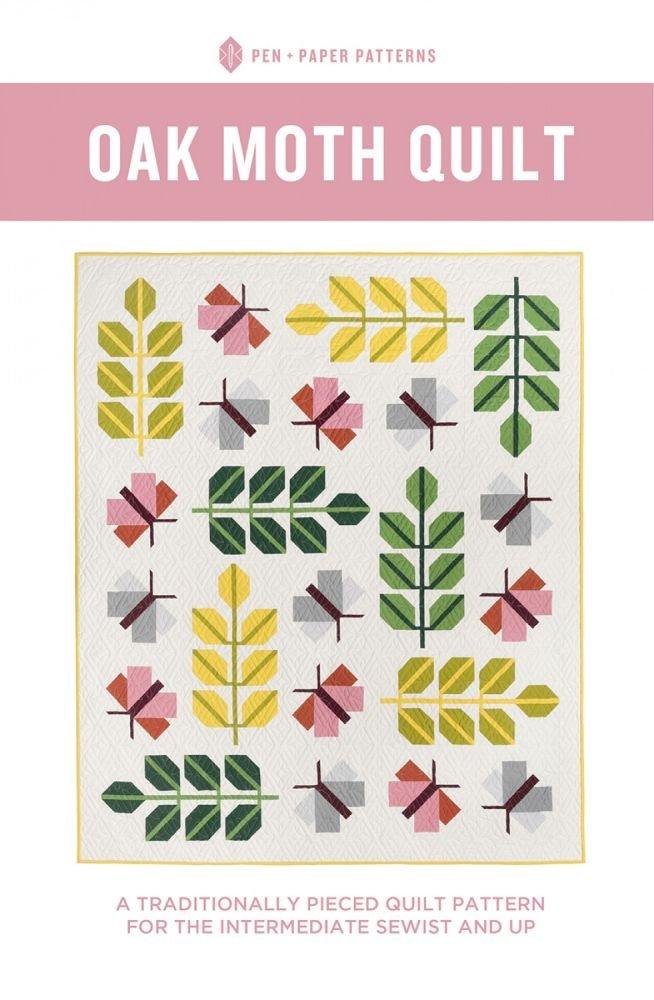 Pen + Paper Patterns - Oak Moth Quilt