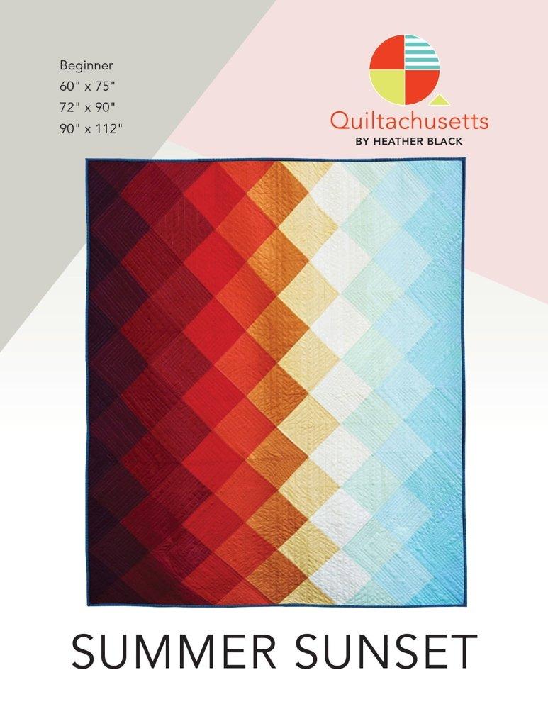 Quiltachusetts - Summer Sunset