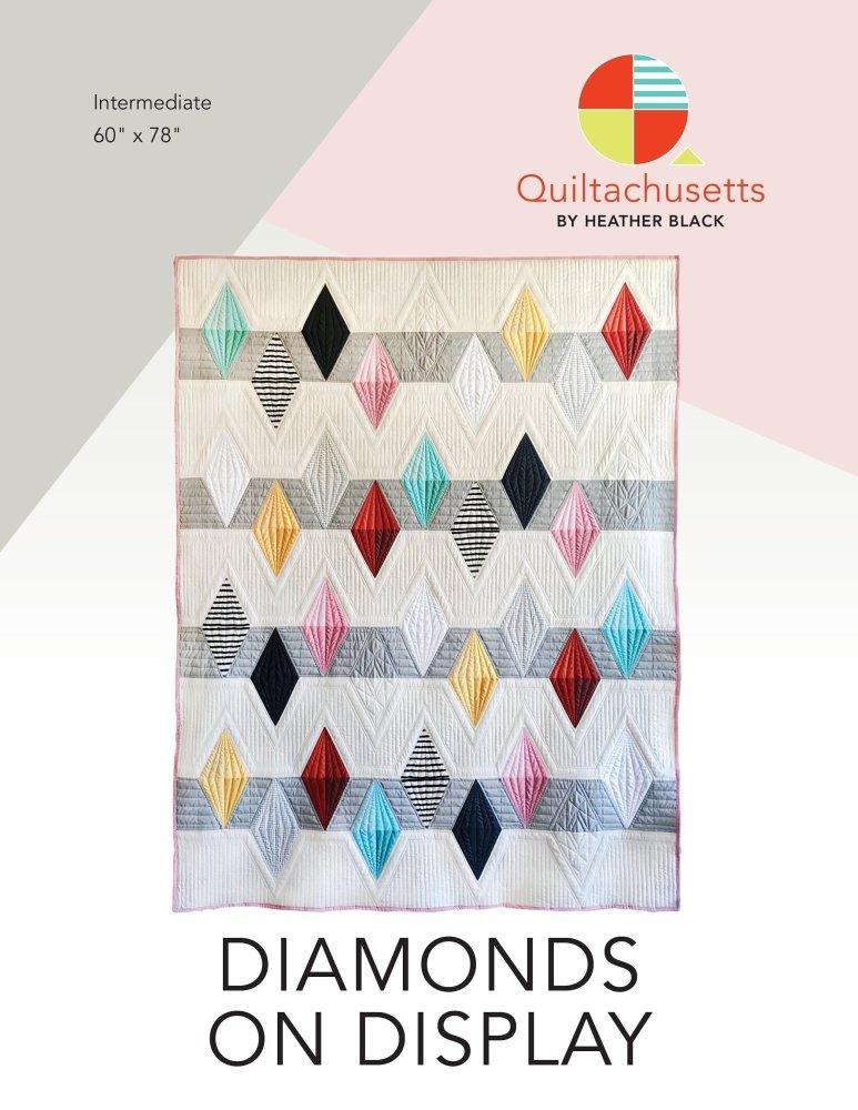 Quiltachusetts - Diamonds on Display