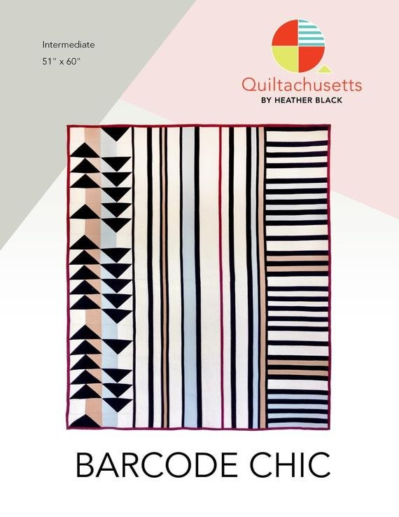 Quiltachusetts - Barcode Chic