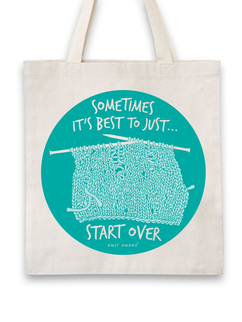 Tote Bag - Start Over Knit