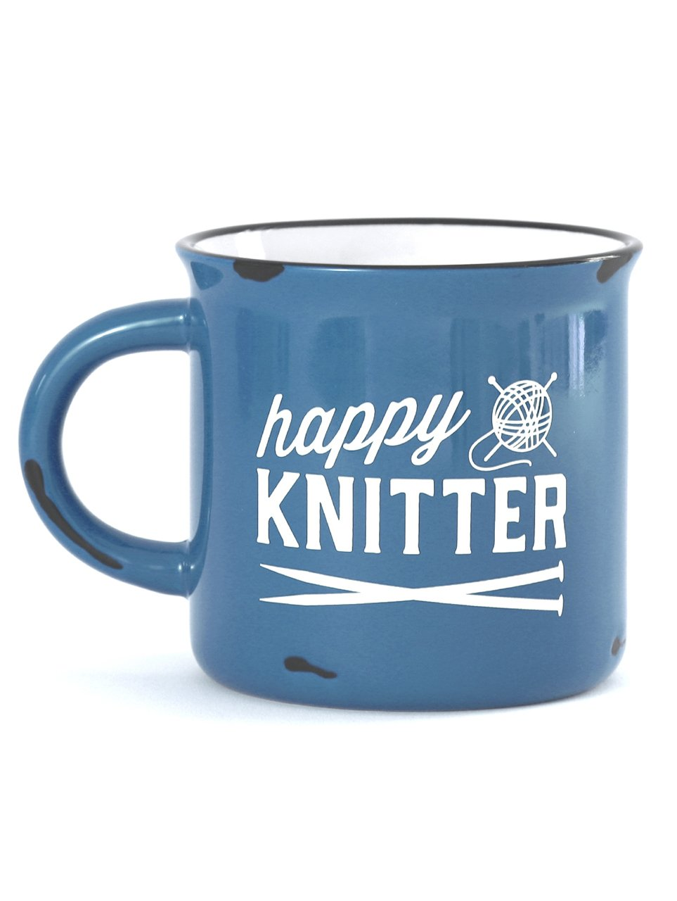 Happy Knitter Camp Mug