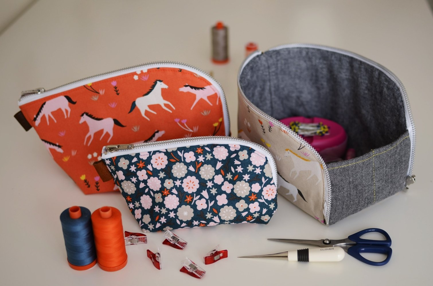Aneela Hoey - Open-Out Box Pouch