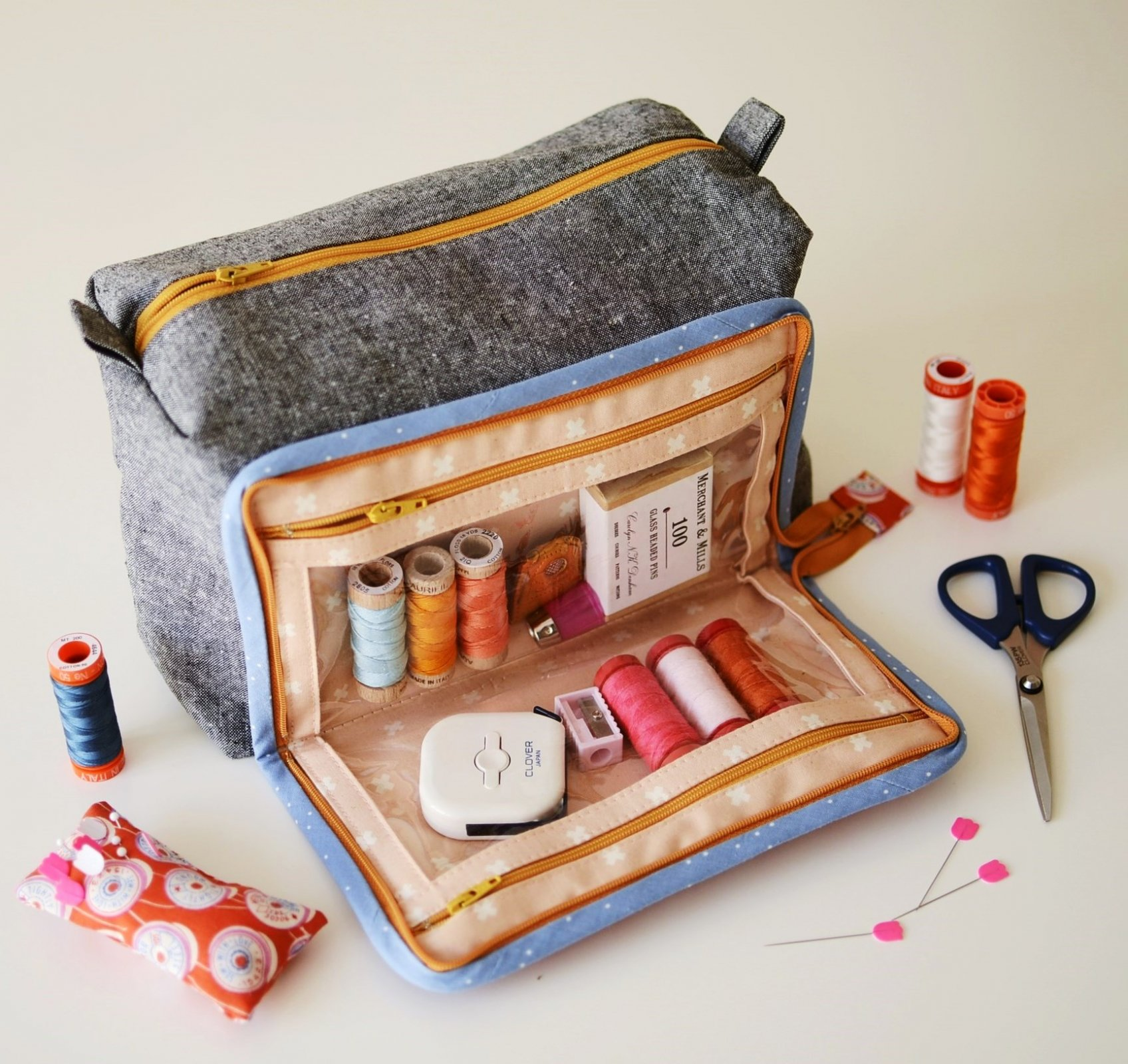 Aneela Hoey - All In One Box Pouch