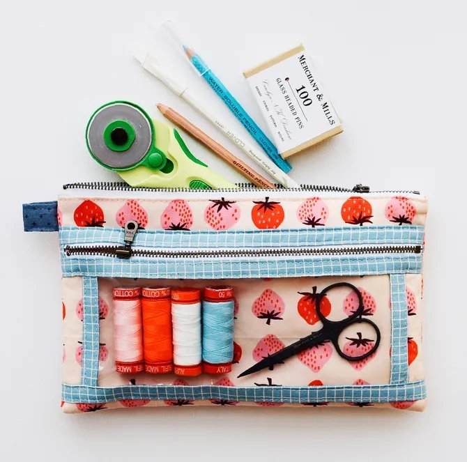 Aneela Hoey - Twice As Nice Pouch