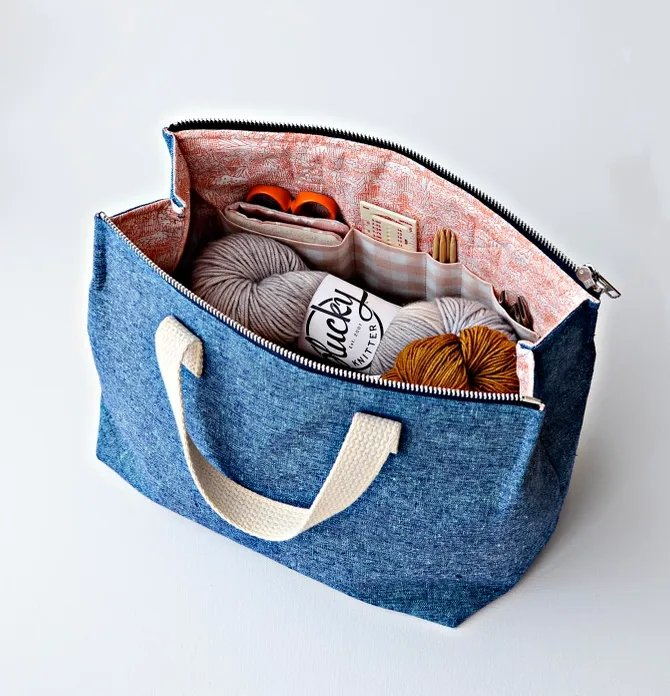 Aneela Hoey - Kit Supply Tote