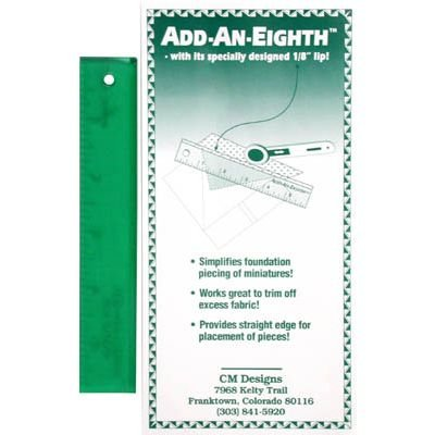 Ruler: Add-An-Eighth Plus 9 - Green