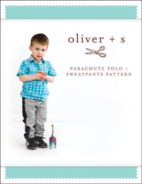 Oliver + S - Parachute Polo + Sweatpants - 6M-4