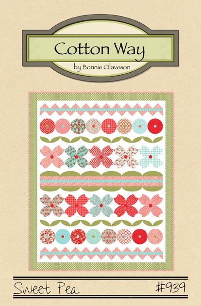 Cotton Way - Sweet Pea Quilt Pattern