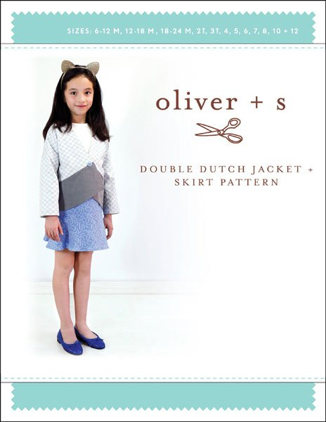 Oliver + S - Double Dutch Jacket + Skirt - 6M - 12