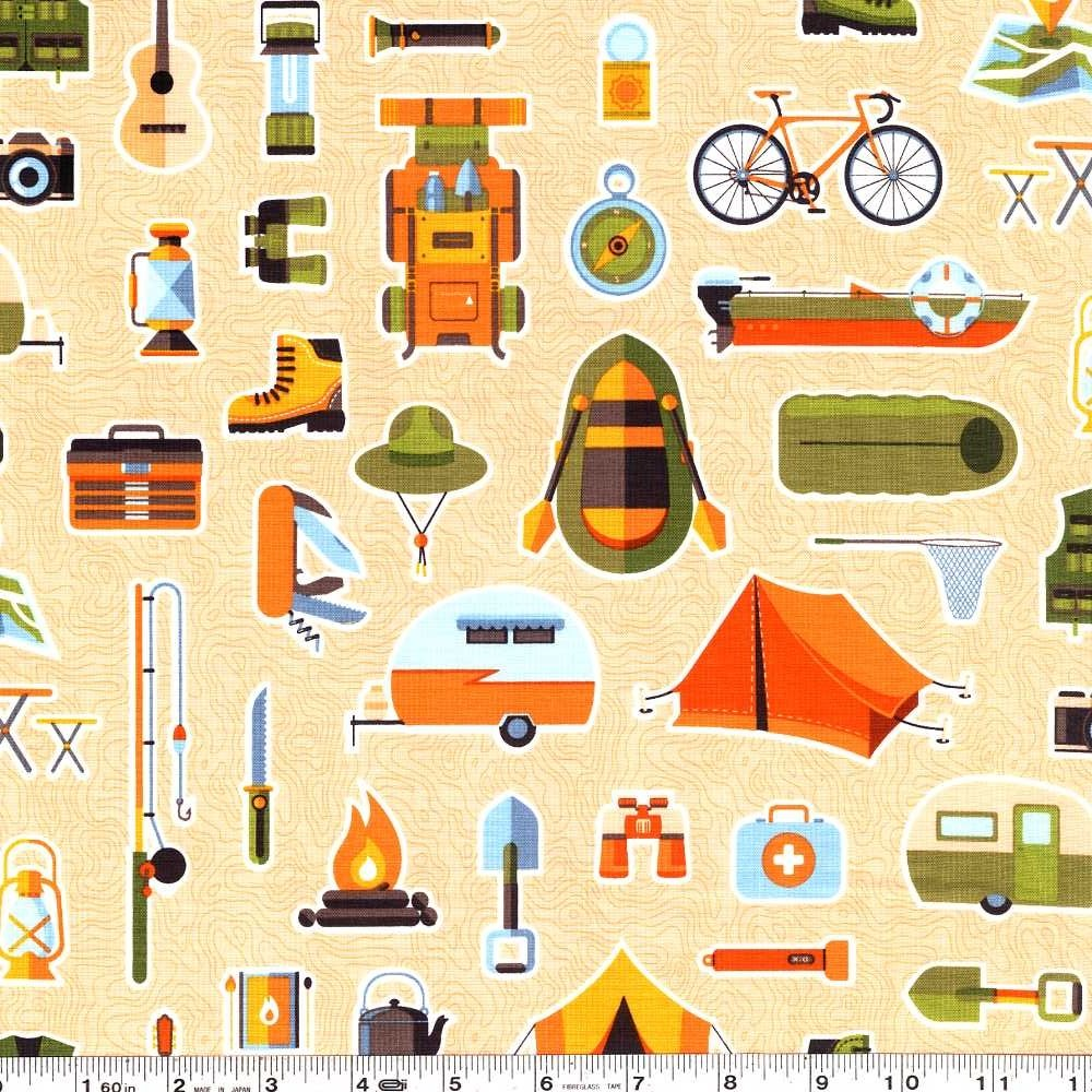 Let's Go Camping - Bare Necessities - Flagstone