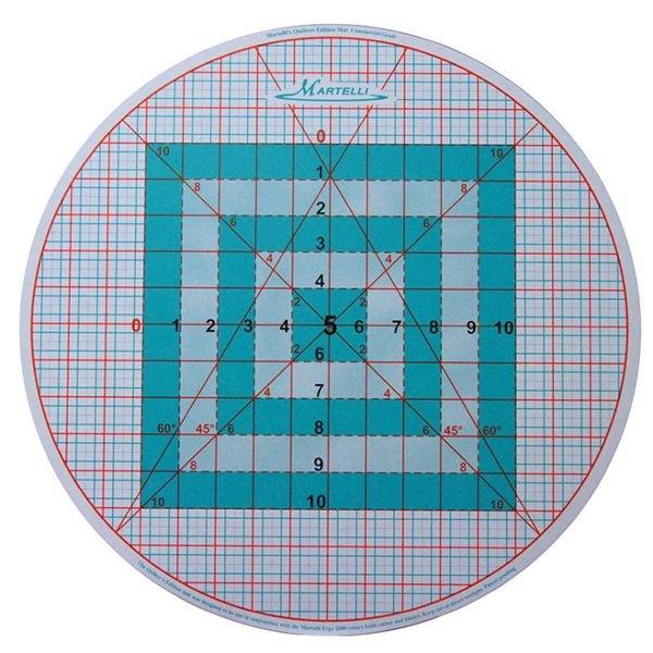 Cutting Mat - Round-About 16 3/4 Diameter