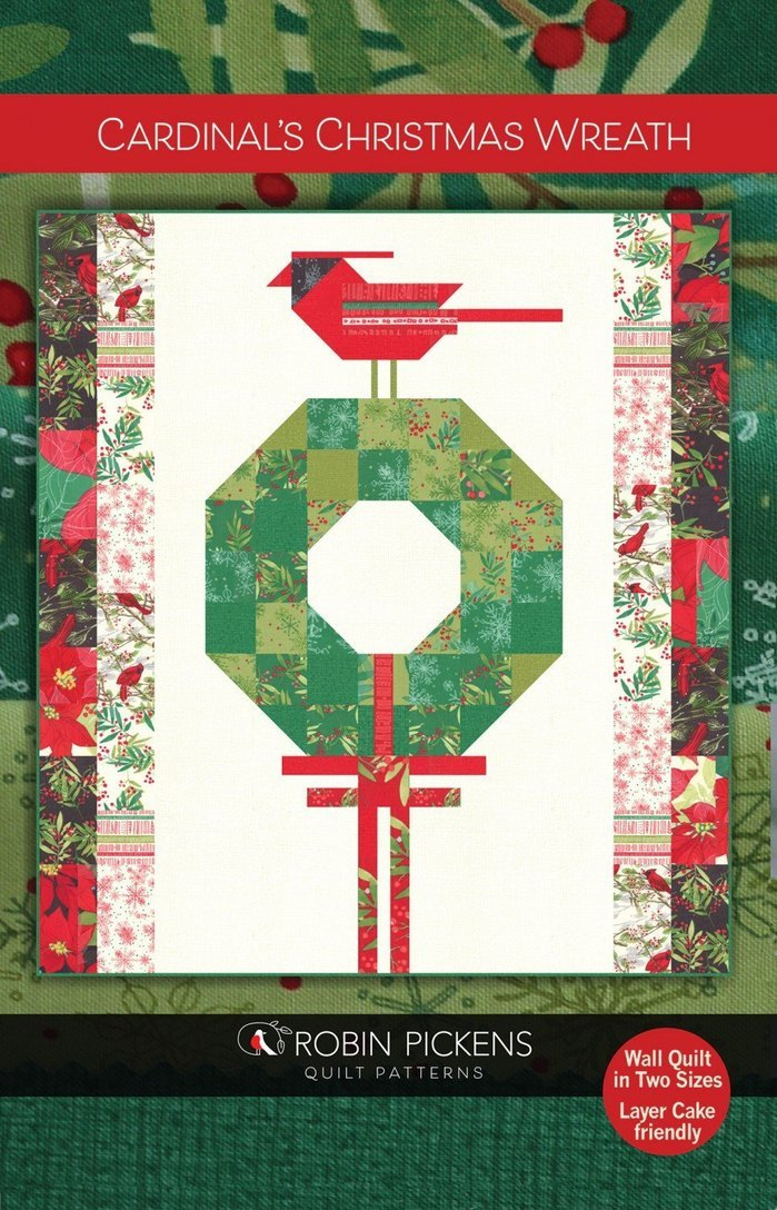 Robin Pickens - Cardinal's Christmas Wreath