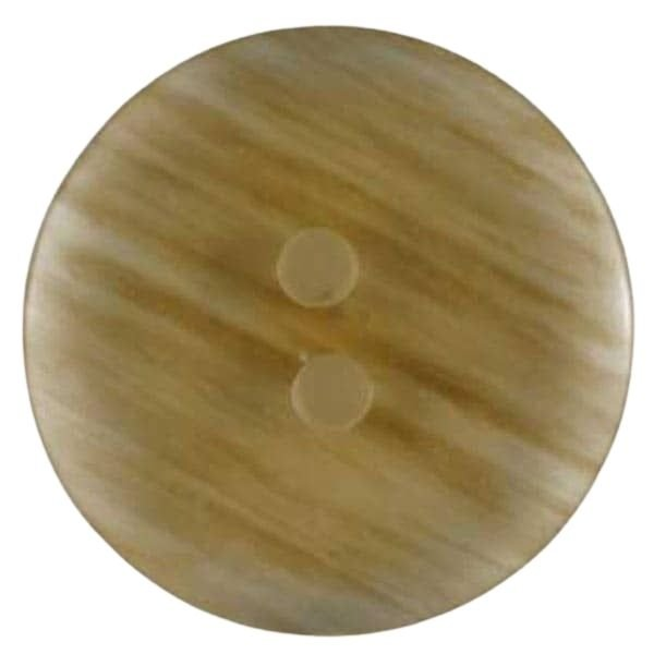 Transparent Buttons - Amber - 11mm