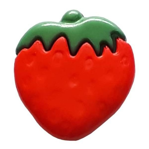 Strawberry Button - 15mm