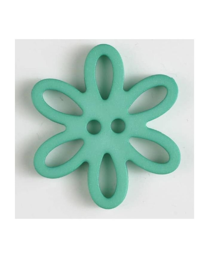Polyamide Flower Button - 20mm