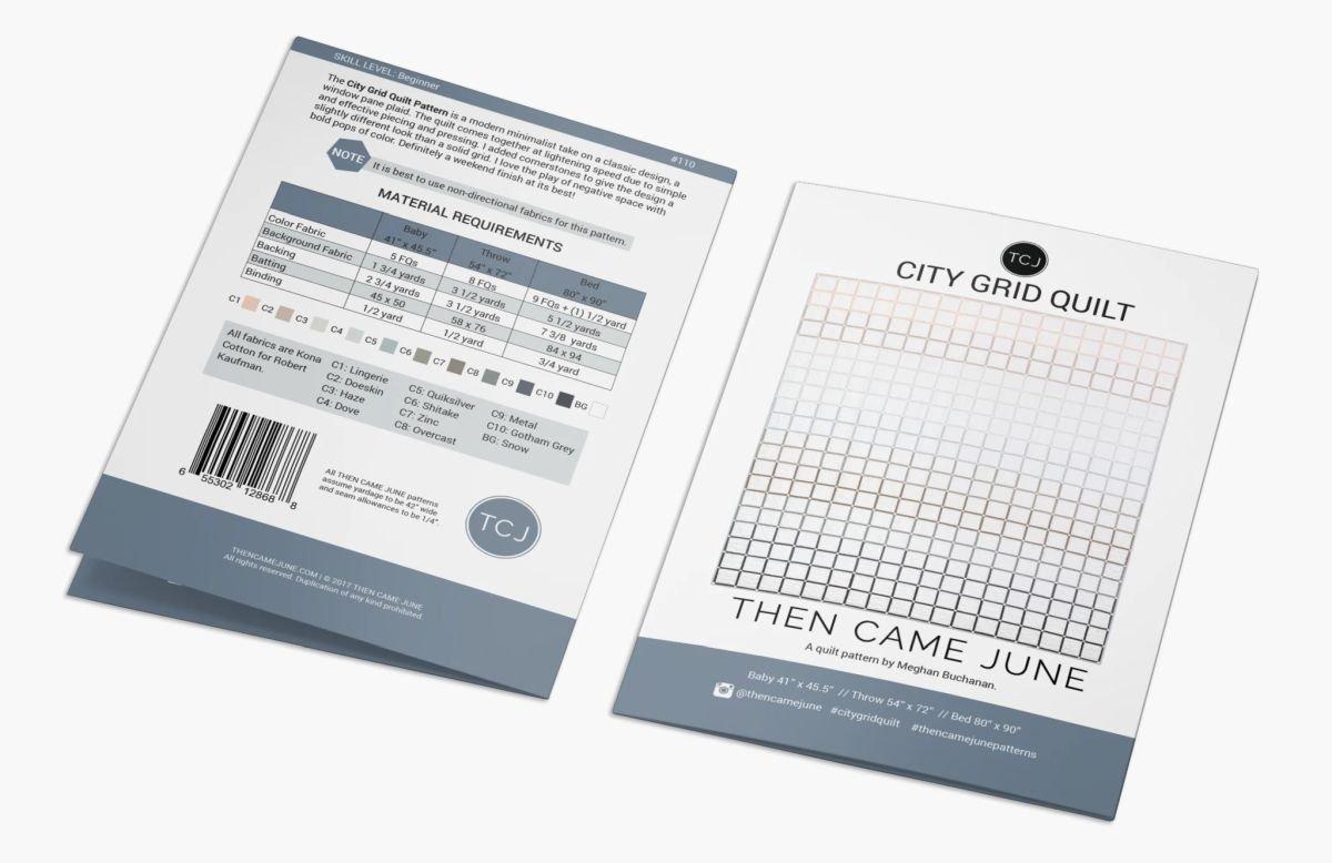Then Came June - City Grid Quilt