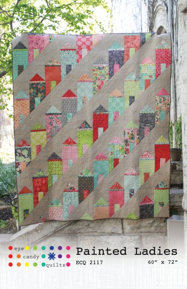 Eye Candy Quilts - Painted Ladies