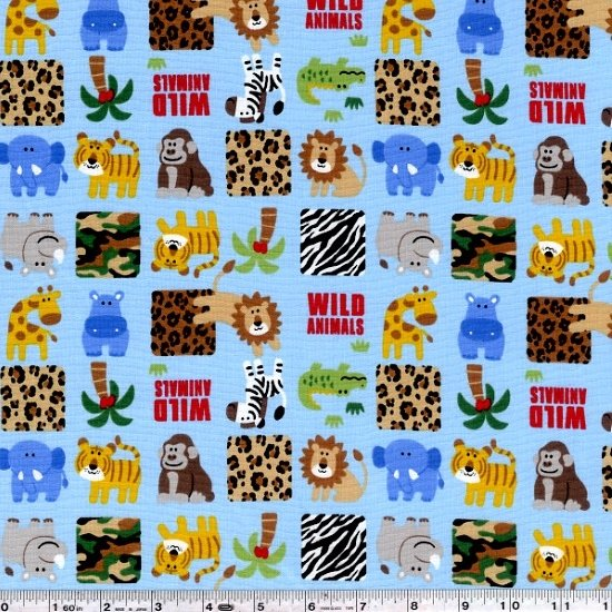 Wild Animal Park - Blue