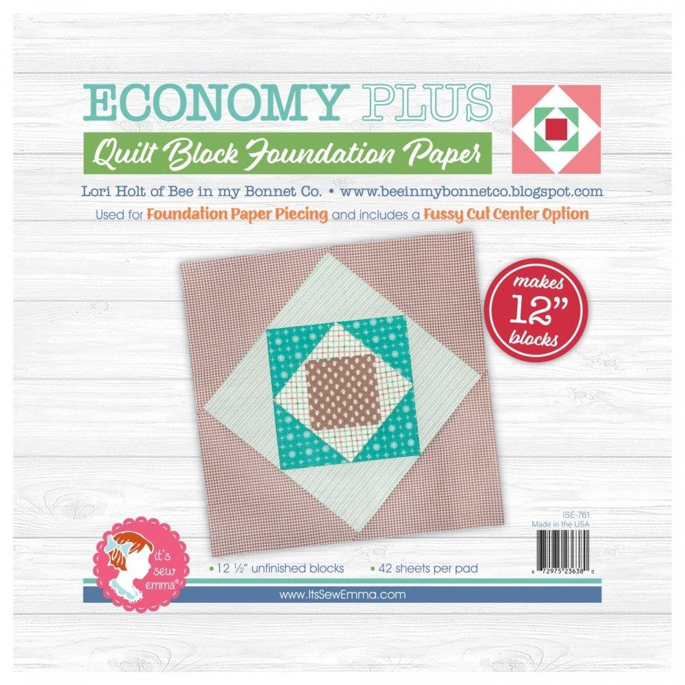 Foundation Paper Pad - Economy Plus 12 1/2 Block