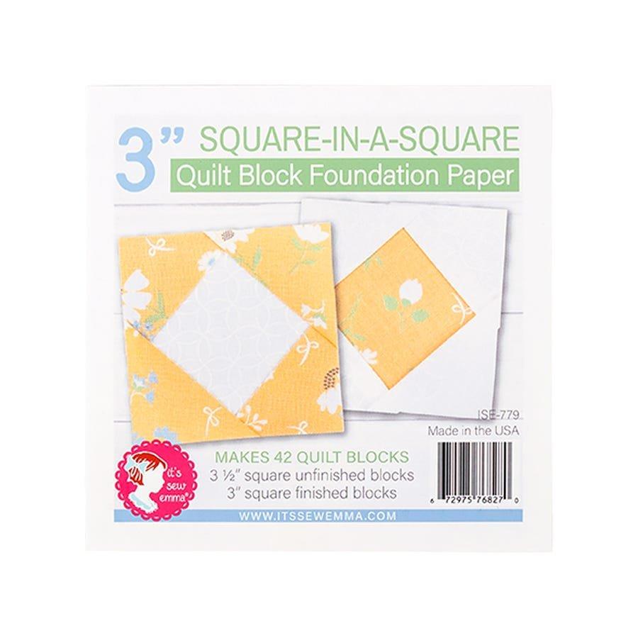 Foundation Paper Pad - Square in a Square 3 Block